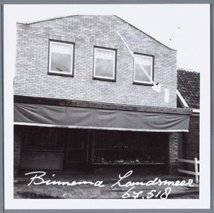 WAT001001692 Foto: horlogerie Binnema, later (1999) bakkerij en thans(2014) Surinaams eethuis.