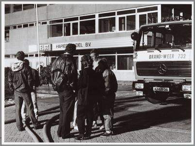 WAT001014319 PURMEREND. – De felle brand bij het papierverwerkingsbedrijf Van der Elst op '25 augustus in ...