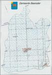 KA2_00015 Plattegrond van de gemeente Beemster, waarop aangegeven de huisnummers, behalve in de dorpskernen