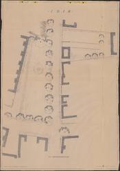 TT1_00008 Plattegrond van het Jan Nieuwenhuizenplein te Edam