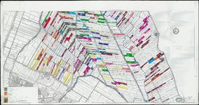 KA2_00022 Vergroting van de topografische kaart 1:50.000 met daarop het zuidelijk deel van de Zeevang. Daarop ...