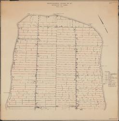 KA4_00016 Kaart van de Purmer betreffende de afwatering en de hoogte van het waterpeil. Blad 1 van 2: noordelijk gedeelte