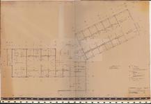 TT2_00013 Plattegrond van de eerste verdieping van een te bouwen kantoorgebouw in de Gors te Purmerend, te gebruiken ...
