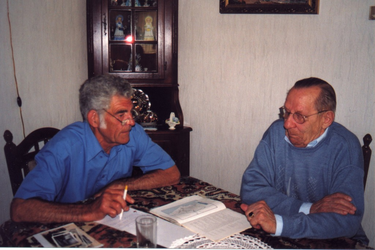 HGOM00000389 Piet Laan en Willem Jonk, interview zie De Post 5-2