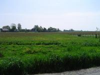HGOM00000437 Zicht op het Edammerdijkje vanaf Axwijk