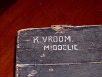 HGOM00001152 Legerkist K. Vroom Middelie