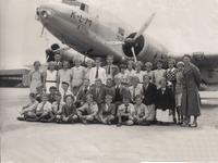 HGOM00001208 schoolreisje 1936 namen bekend bij Oud-Middelye, zie foto