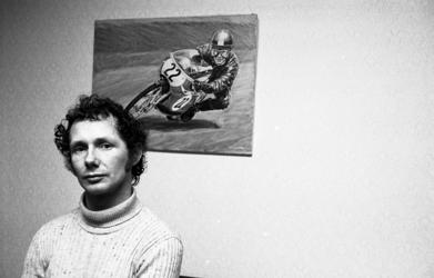 RJ000000146 Jan de Vries, wereldkampioen motorrijden 50cc.(NNC 17-03-1972