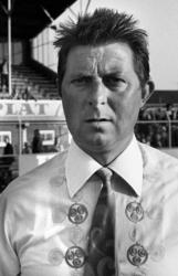 RJ000000223 Trainer van voetbalvereniging Volendam Joep Steur