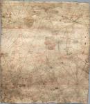 WAT001020240 Gedeelte van een Portolaankaart of zeekaart van de Atlantische Oceaan met de westkust van Noord-Afrika en ...