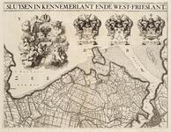WAT001019819 Overzichtskaart van het beheersgebied van de Uitwaterende Sluizen in 4 bladen. Blad 2: Hoorn, Amsterdam. ...