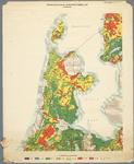 WAT001019848 Overzichtskaart van de landbouw waterhuishouding in Noord-Holland tijdens de zomer.
