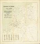 WAT001019831 Overzichtskaart betreffende militaire schietoefeningen in Nederland in 1913.