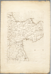 WAT001019843 Overzichtskaart van Noord-Holland in 12 bladen; blad 8, Hoorn, Edam, Purmerend, de Beemster en Zeevang.