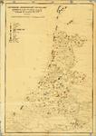 KA00189_A kaart met de Noordelijke Nederlanden tijdens de Bourgondische tijd met gegevens betreffende de landbouw ...