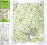 WAT001019874 Topografische kaart van een gedeelte van Noord-Holland met Purmerend, Neck, De Purmer, De Wijde Wormer, De ...