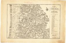 WAT001020197 Gedeelte van de overzichtskaart van Holland van Beeldsnijder van voor de inpoldering van de meren met de ...