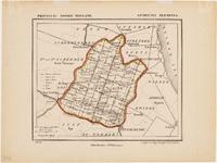 WAT001019952 Overzichtskaart van de gemeente Beemster met wegen-en boerderijnamen.
