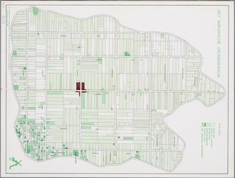 WAT001019963 Kaart met het agrarisch grondgebruik in de Beemster.