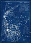 WAT001019921 Overzichtskaart betreffende de afwatering op de schermerboezem door de zes seindistricten.