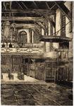 WAT001021042 Interieur van de N.H. kerk met preekstoel en orgel.