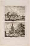 WAT001020947 Gezicht op het dorp Uitdam vanaf de Waterlandse Zeedijk / Gezicht op het dorp Purmerland.