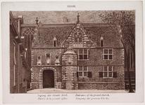 WAT001020847 Gedeelte van de Grote of St. Nicolaas Kerk van Edam.