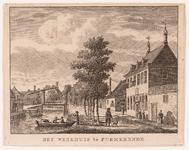 WAT001020885 Gezicht op de Burgwal met het Weeshuis.