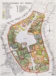 WAT001020057 Plattegrond van het recreatiegedied Het Twiske tussen Landsmeer, Den Ilp en Oostzaan.