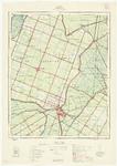 WAT001020170 Topografische kaart, blad Purmerend met waterschap de Beemster.