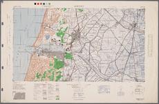 WAT001020275 Topografisch-militaire kaart van de U.S. Army, blad IJmuiden met Beverwijk, polder WestZaan, Assendelft, ...