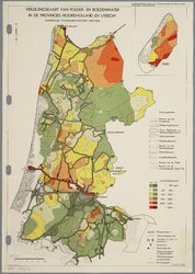 WAT001020280 Overzichtskaart van de landbouwwaterhuishouding in Noord-Holland en een gedeelte van Utrecht; kaart 4 ...