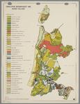 WAT001020281 Overzichtskaart van de verschillende grondsoorten in de bodem van Noord-Holland.