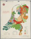 WAT001020284 Overzichtskaart met de grondsoorten en hoeveelheid koolzure kalk per ha. op bouwland in Nederland