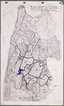 WAT001020291 Topografische overzichtskaart betreffende de waterhuishouding in Noord-Holland.