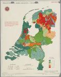 WAT001020285 Overzichtskaart met de grondsoorten en de te zure gronden grasland in Nederland.