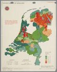 WAT001020286 Overzichtskaart met de grondsoorten en kalkbehoefte op grasland in Nederland.