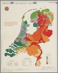 WAT001020283 Overzichtskaart met de grondsoorten en de te zure gronden in Nederland.