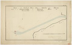 33_TT00010 Situatieschets van het gebied tussen de sluizen en de Zuiderzee te Schardam