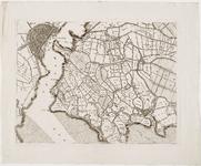 33_KA00314 Topografische kaart van het beheersgebied van de Uitwaterende Sluizen in 16 bladen. Blad 8: Monnickendam, ...