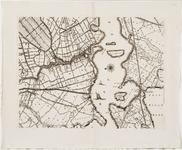 33_KA00318 Topografische kaart van het beheersgebied van de Uitwaterende Sluizen in 16 bladen. Blad 12: Zaandam
