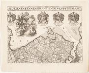 33_KA00326 Overzichtskaart van het beheersgebied van de Uitwaterende Sluizen in 4 bladen. Blad 2: Hoorn, Amsterdam. ...