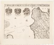 33_KA00327 Overzichtskaart van het beheersgebied van de Uitwaterende Sluizen in 4 bladen. Blad 1: Enkhuizen, Medemblik. ...