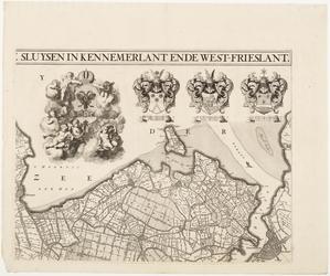33_KA00331 Overzichtskaart van het beheersgebied van de Uitwaterende Sluizen in 4 bladen. Blad 2: Hoorn, Amsterdam. ...