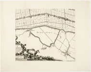 33_KA00454 Topografische kaart van de Zijpe- en Hazepolder in 6 + 2 bladen. Blad 2: midden-oosten, St.-Maarten. ...