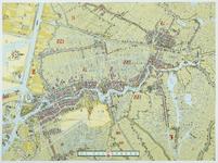 33_KA00473 Vogelvluchtkaart van de Zaanstreek, uitgegeven ter gelegenheid van het 100-jarig bestaan van de firma Honig