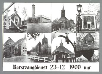 WAT001010935 St. Nicolaaskerk. Onze Lieve Vrouwe Sterre der Zee. St. Vincentiuskerk. Lutherse Kerk. Doopsgezinde Kerk. ...