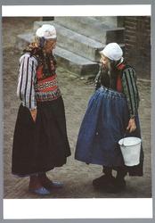 WAT001011964 Links: Aaltje de Groot-Peereeboom, rechts: Maritje Boneveld-Teerhuis