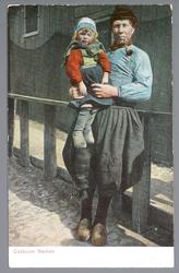 WAT001011971 Pieter Stoker met kleinkind