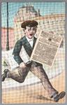 WAT001012388 Krantenjongen Purmerender Courant, J.D.Schuitemaker